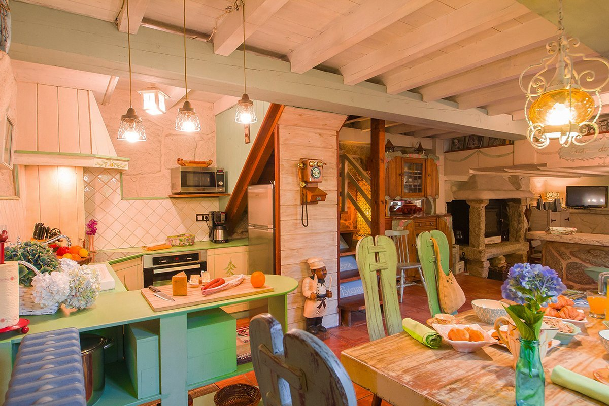 Rural Tourism House for 6 people - Dining room