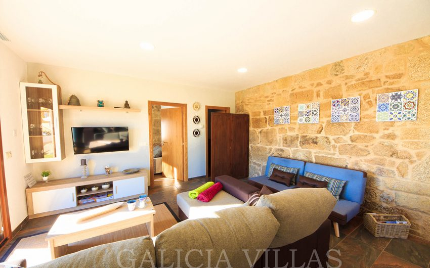 Vacation Rental with sofas